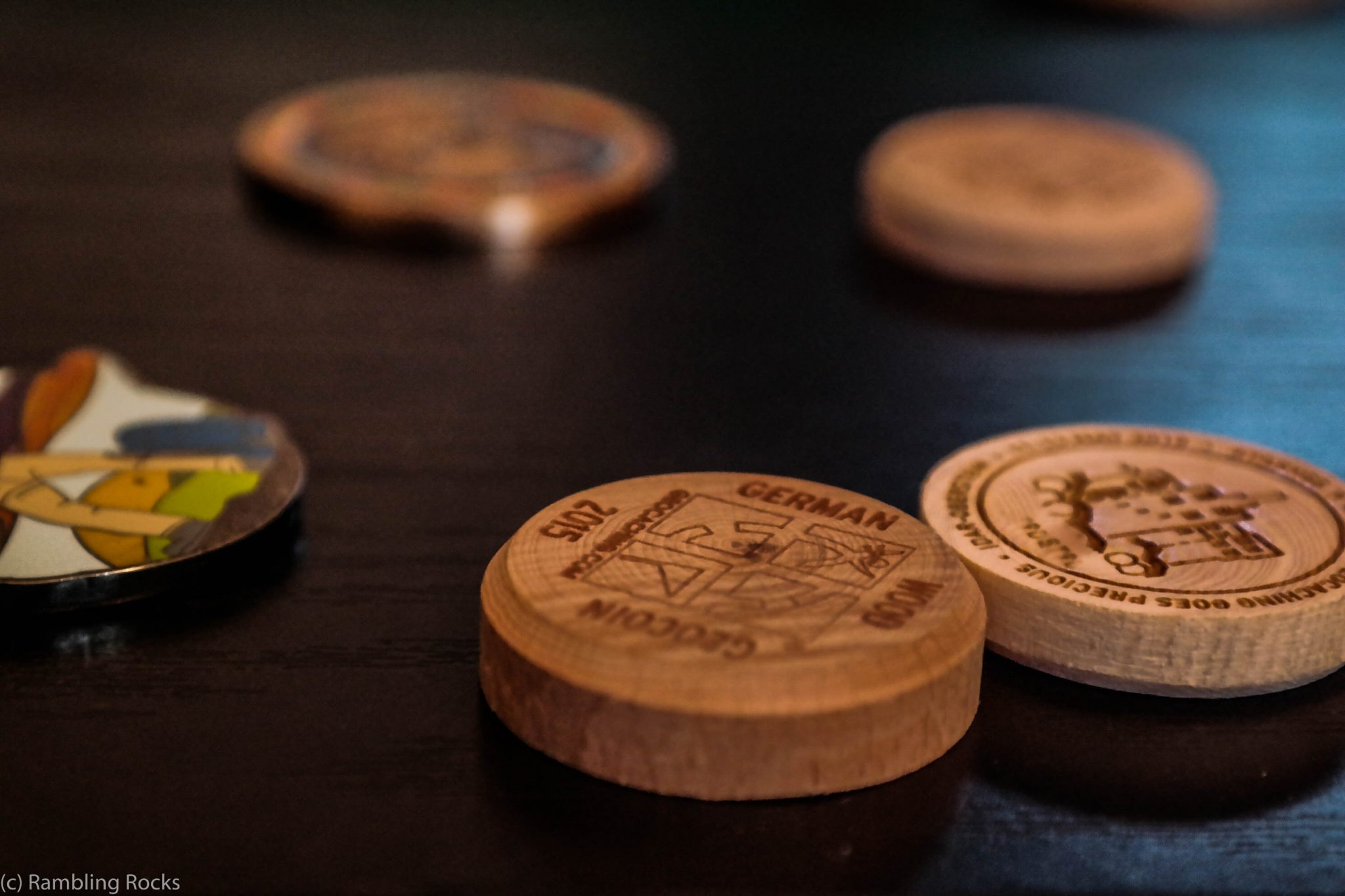 Woodcoin Geocoin