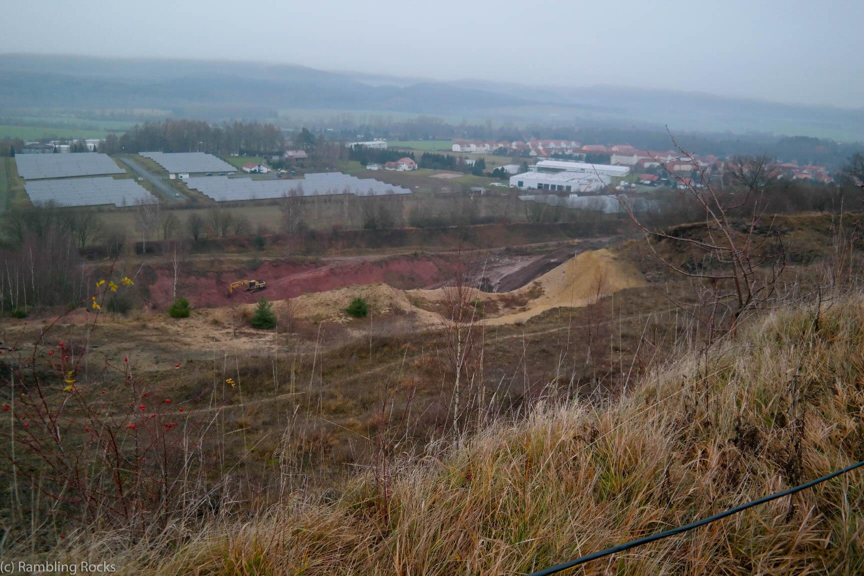 Tagebau bei Ellrich