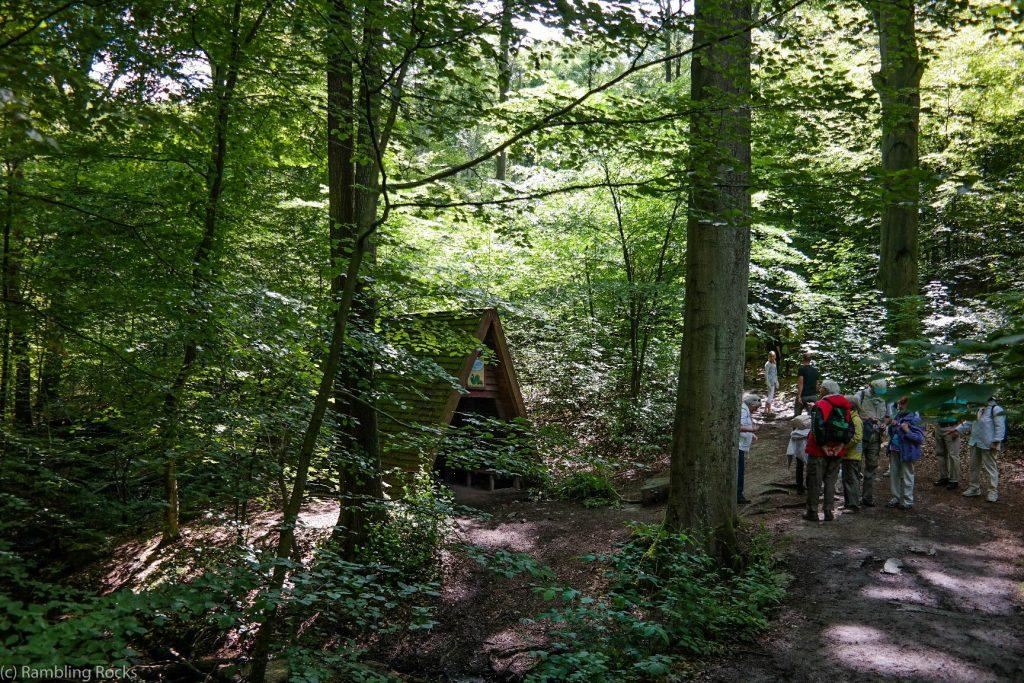 Wandergruppe im Harz