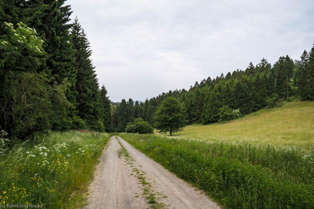 Weg özum Granetalstausee