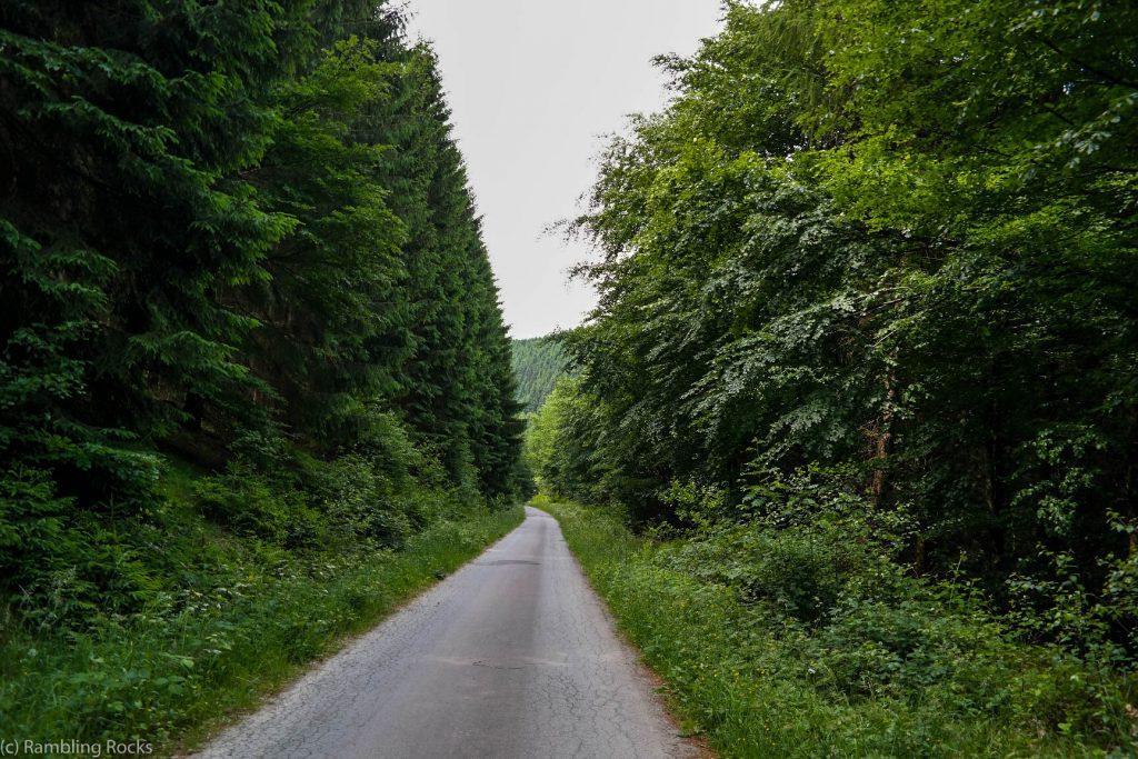 Weg durch Granetal
