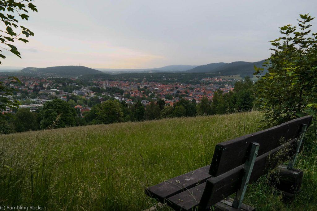 Blick auf Goslar