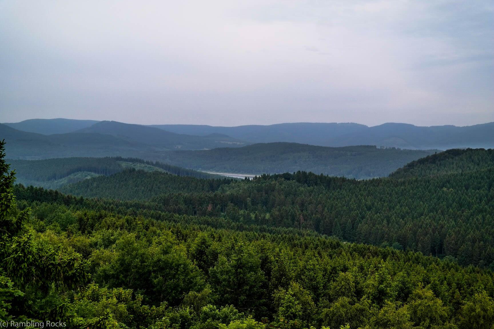 Granestausee im Harz
