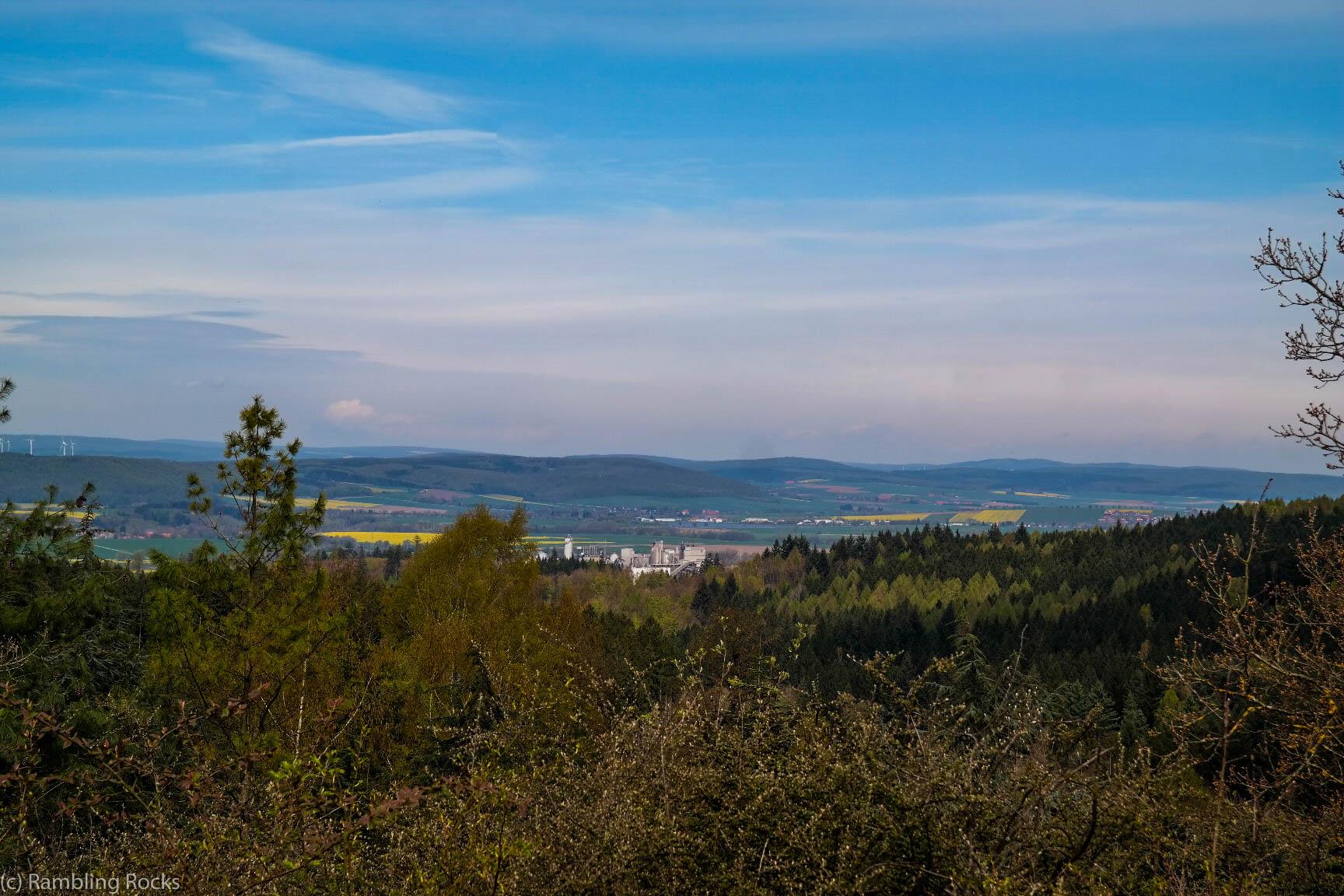 Blick auf Harzvorland