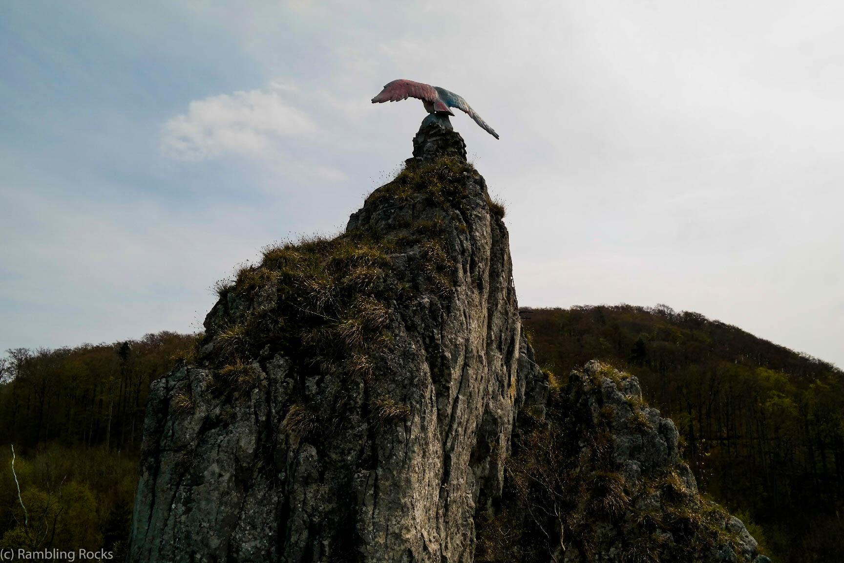 Hübichenstein mit Adler