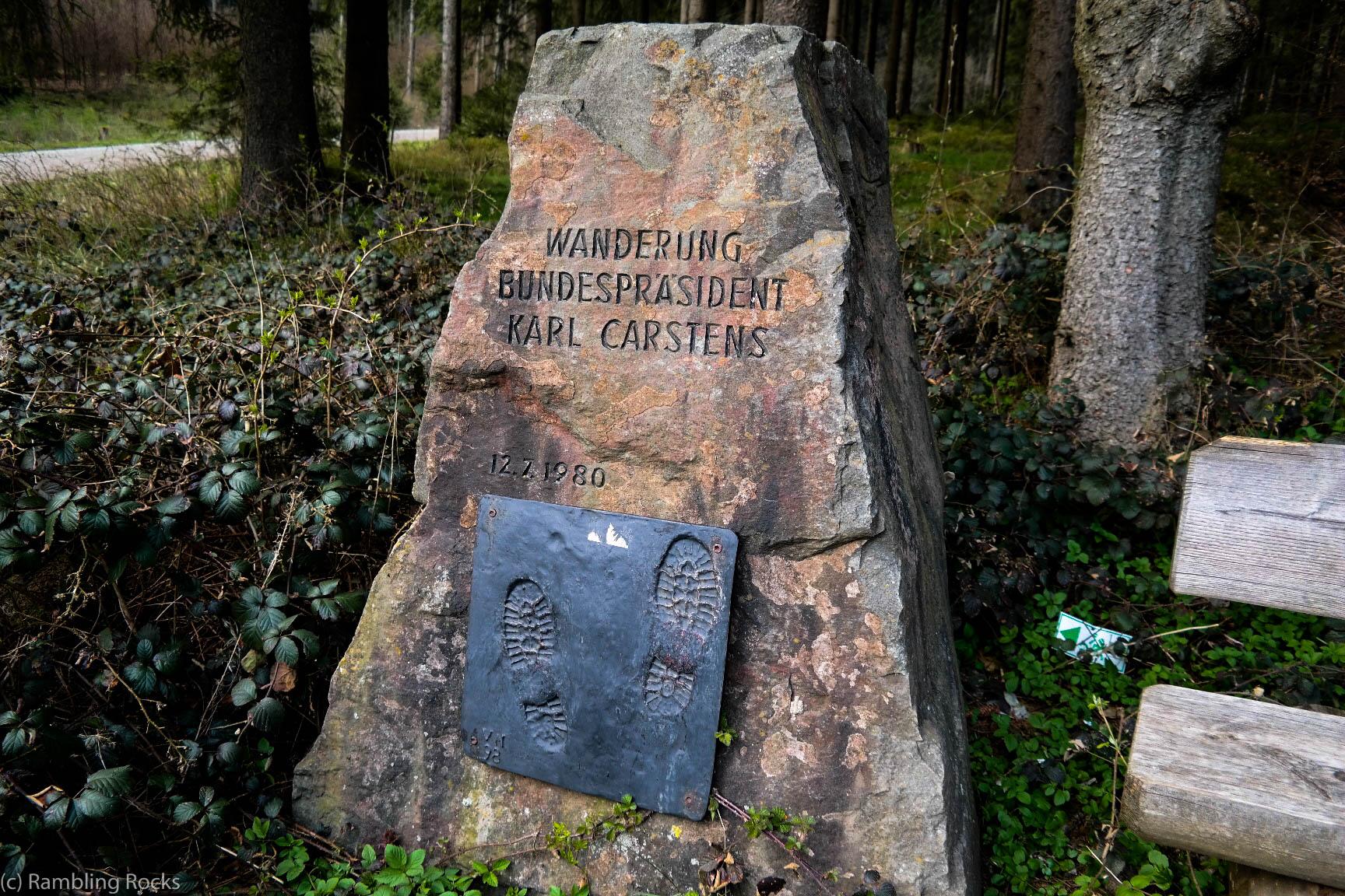 Wanderpräsident im Harz