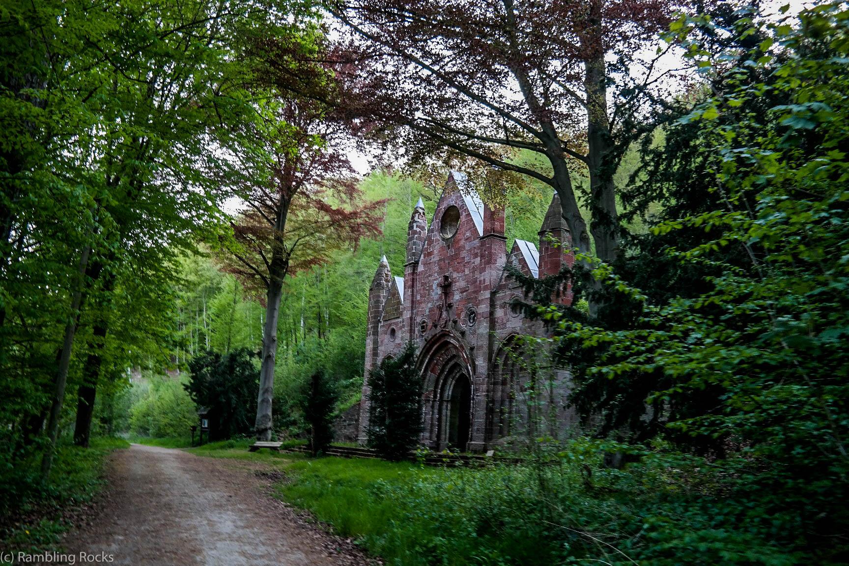 Mausoleum im Harz