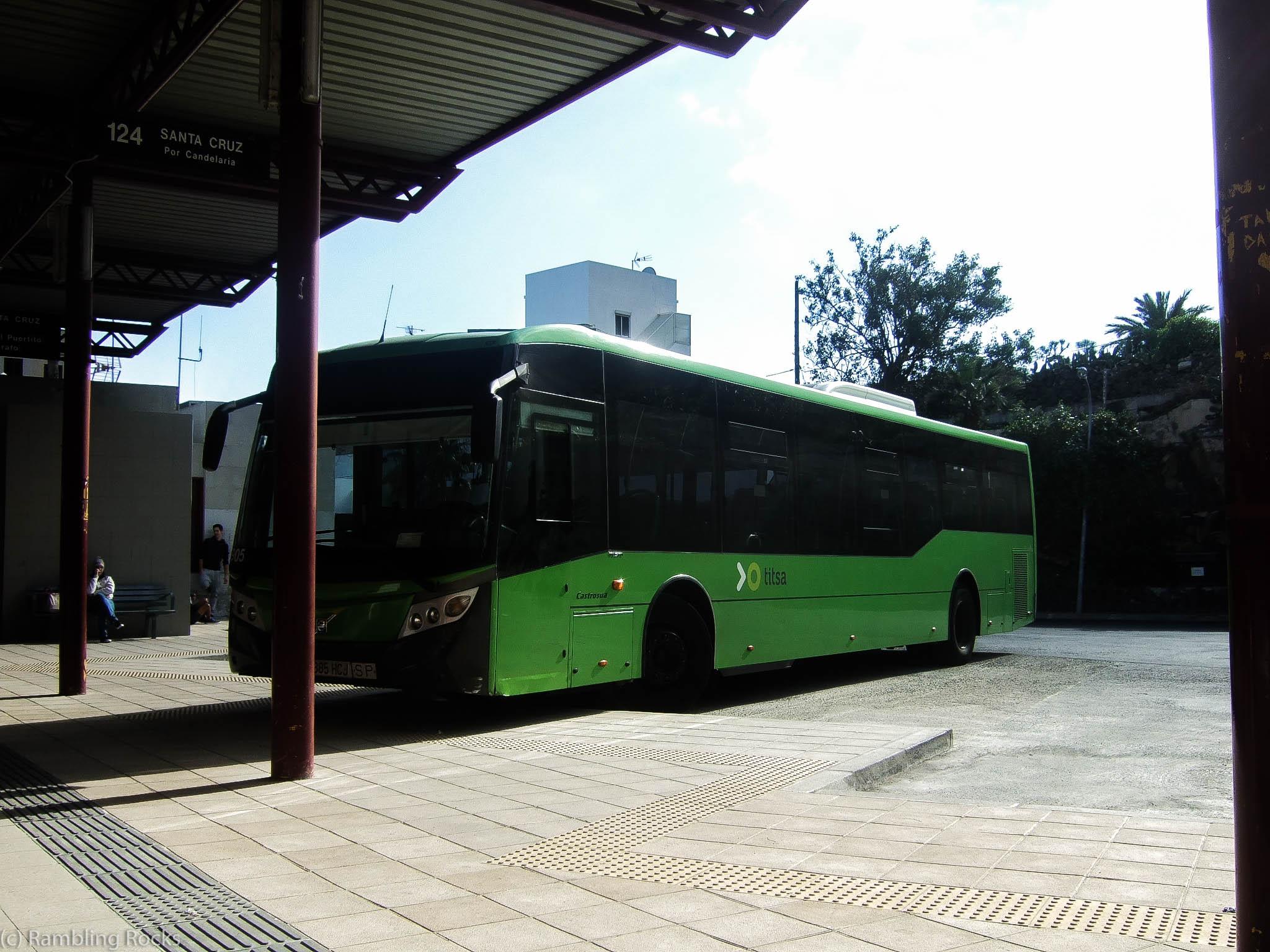 Bus Teneriffa