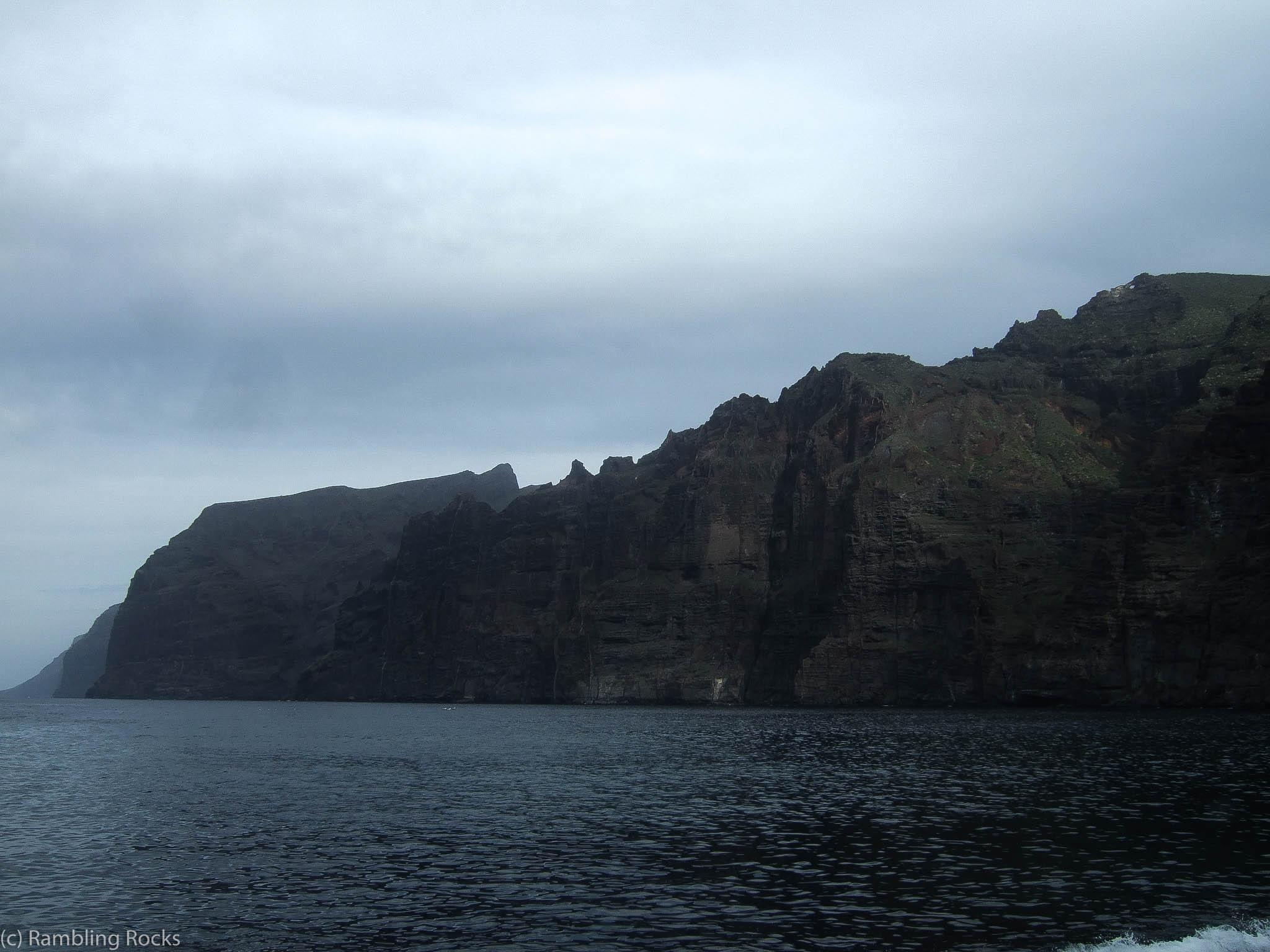 Los Gigantes Geologie
