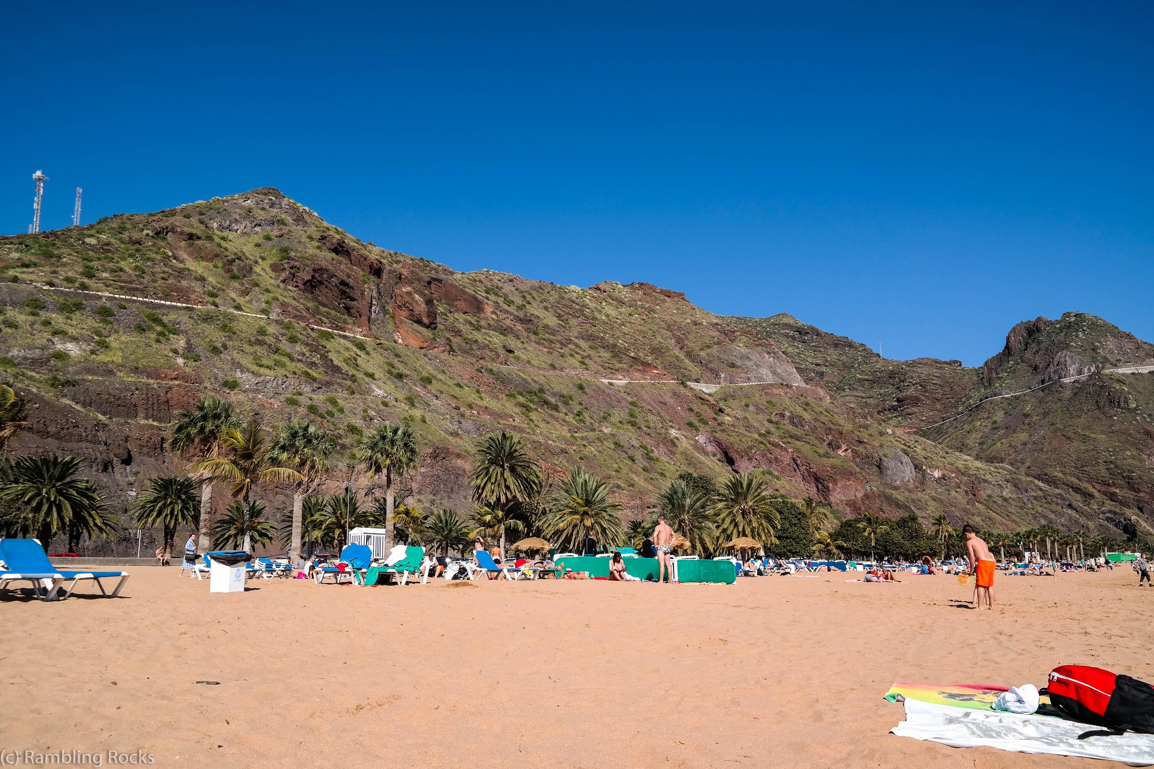 Strand Playa de las Teresitas