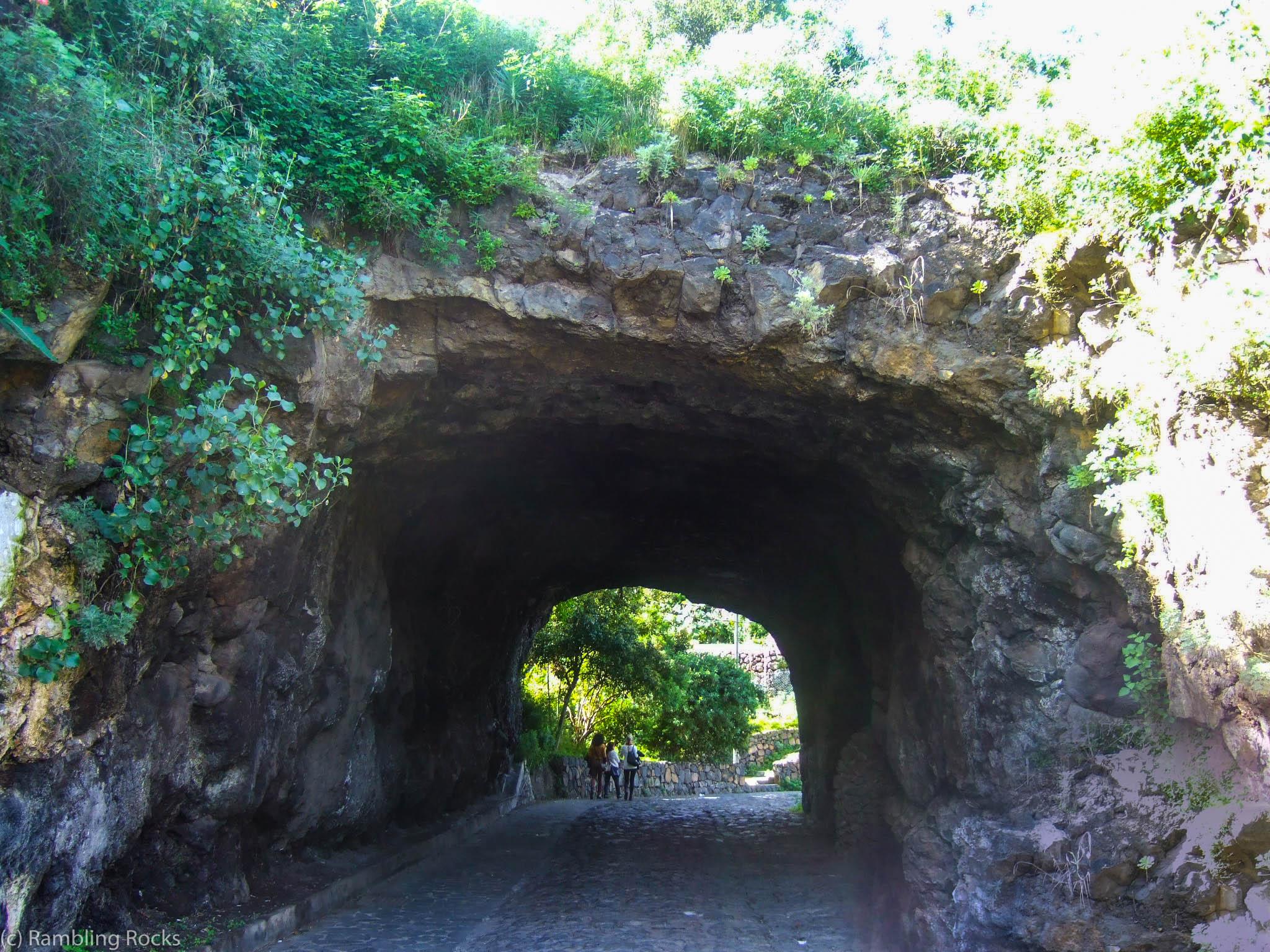 Vulkanhöhle Teneriffa