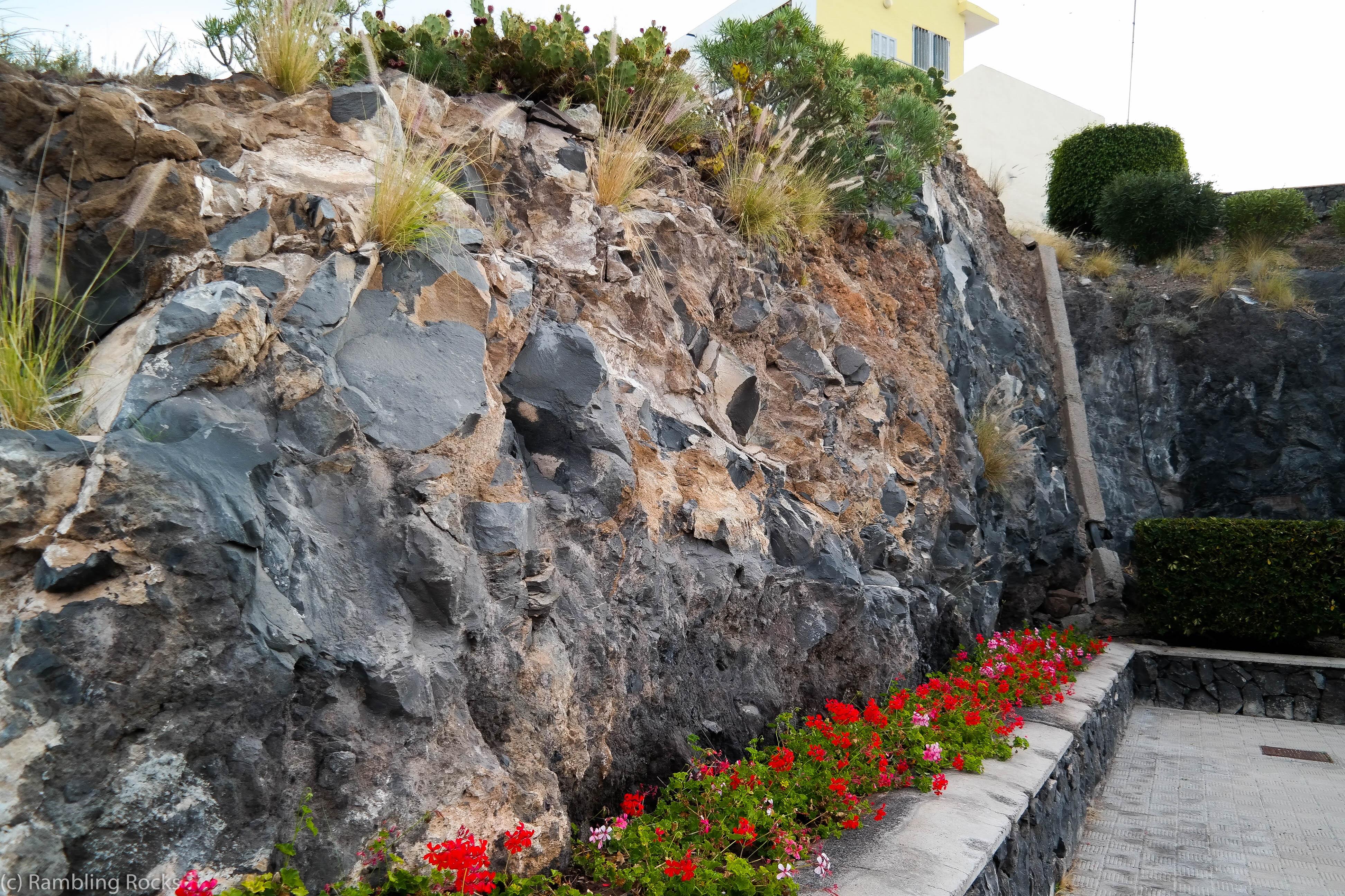 Aufschluss Piedra Hicada
