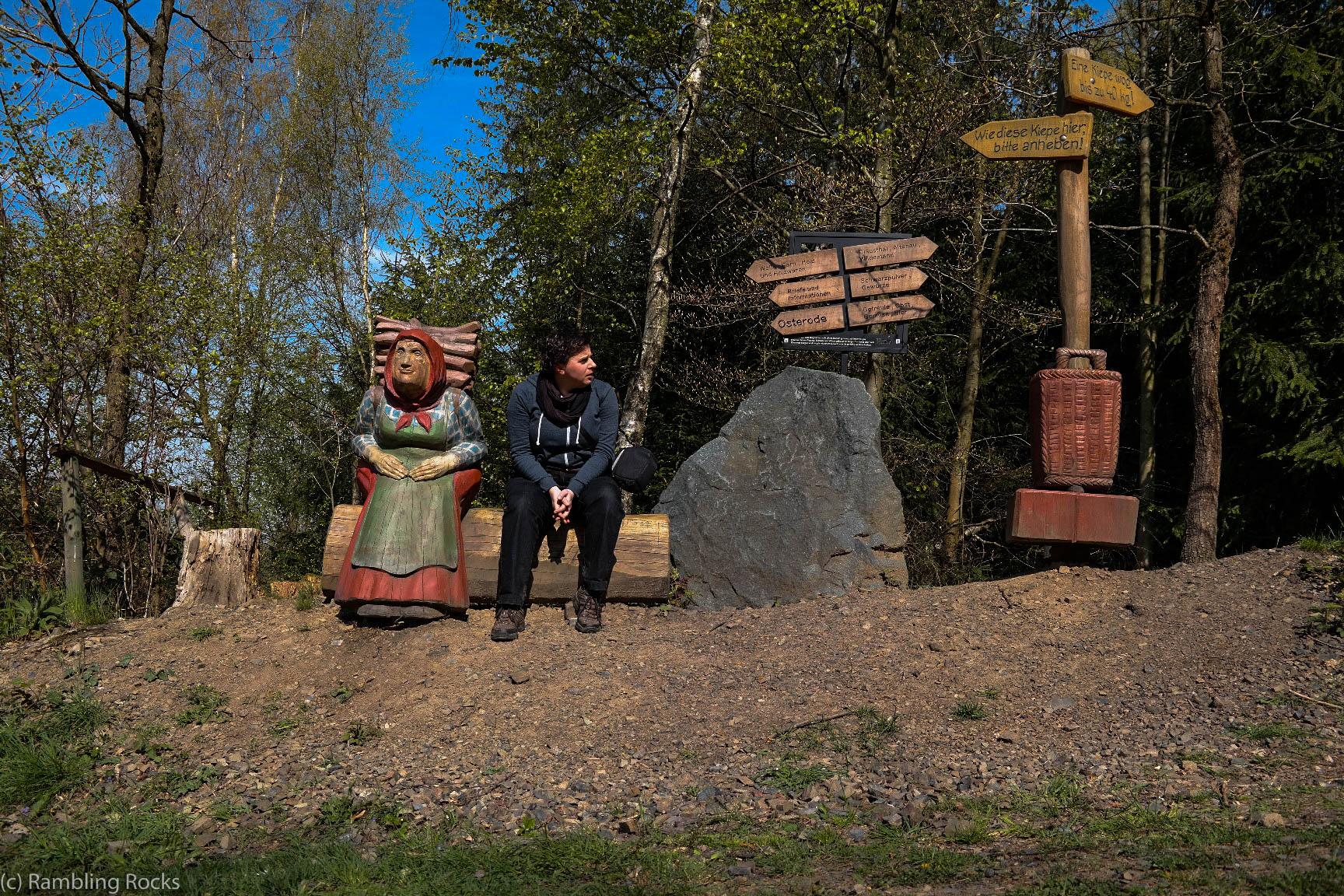 Zoe und Kiepenfrau